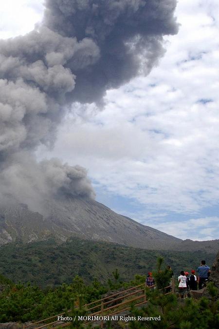 桜島 噴火 01