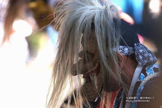 七浦秋祭り 母ヶ浦鎮守神社で撮影した東塩屋面浮立(めんぶりゅう)
